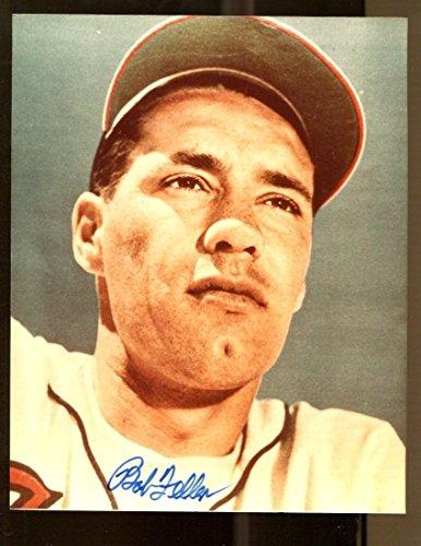 Bob Feller Signed Photo 8x10 Autographed Indians 38278