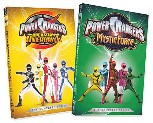 Power Rangers: The Complete Series (Operation Overdrive & Mystic Force) (2-Pack)