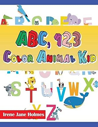 ABC 123 Color Animal Kid