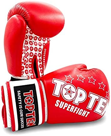 TopTen Superfight Stars Gants de Boxe Mixte