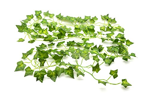 Beebel-85-Ft-12-strands-Artificial-Flowers-Fake-Hanging-Vine-Plant-Leaves-Garland-Home-Garden-Wall-Decorationivy