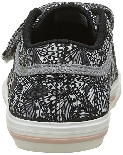 Le Coq Sportif Saint Gaetan Inf Butterfly Cl, Zapatillas para Niños, Negro (Black/Rose Cloudblack/Rose Cloud), 21 EU