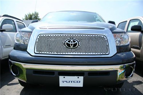 Putco 84192 Punch Mirror Stainless Steel Grille