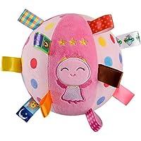 Huisen Baby toys 3-12 months, handbell baby Rattles, soft plush early development of baby stroller toys, newborn…