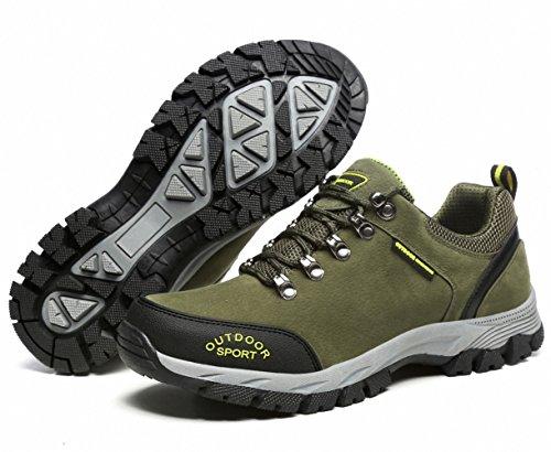 Baskets 49 De Outdoor Verte Nubuck Marchant Pour Imperméables Trekking39 Des Bensorts Randonnée Armée Antidérapant Hommes Chaussures nAaxTORxz