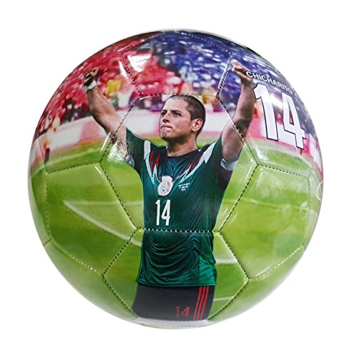 iSport Gifts Mexico Chicharito #14 Kids Soccer Ball ✓ Size 5 for Kids & Adult ✓ Premium Gift Youth Soccer Ball ✓ Unique Design ✓ Durable Soft Construction (Size 5, Mexico Chicharito #14)