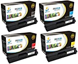 Catch Supplies TN331 4 Pack Premium Replacement Toner Cartridge Compatible with Brother MFC-L8850cdw L8600cdw, HL-L8350cdw L8350cdwt L8250cdn Printers |Black, Cyan, Magenta, Yellow|