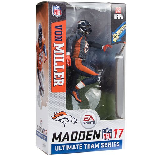 - McFarlane Von Miller NFL Madden 17 Action Figure Denver Broncos Color Rush Uniform