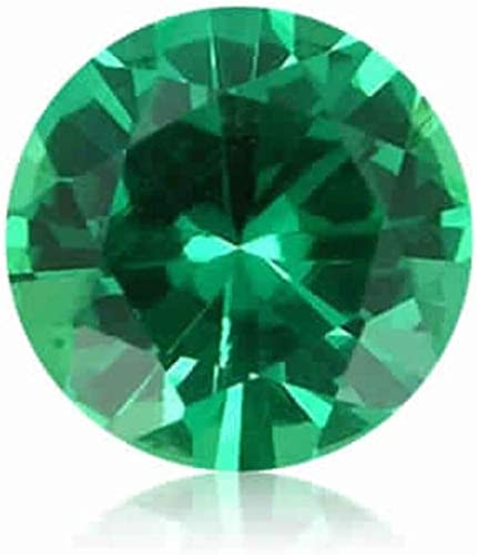 3 mm Round AAA Zambian Natural Green Emerald Bright Clean Stones