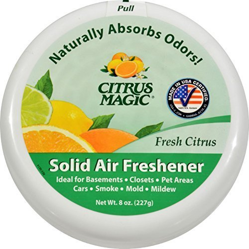 Citrus Magic Solid Odor Absbr Citrus 8 Oz