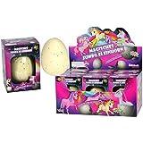 XXL Einhorn Schlüpf Ei 11cm - Magic growing Egg Unicorn Schlüpfei Einhörner