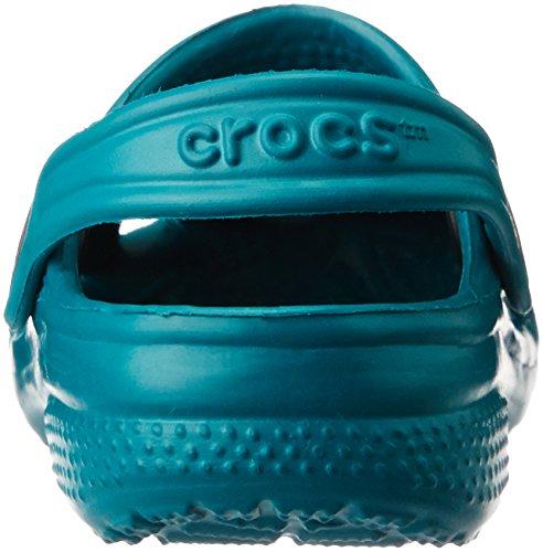 Sabots Crocs Kids Mixte Chocolat Juniper Bleu Classic enfant x6zrTxw