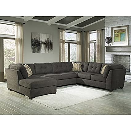 Amazon Com Ashley Furniture Delta City 3 Piece Right Facing