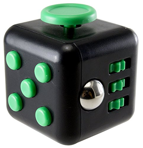Fidget Cube - Fidget Box - Relieves Stress And Anxiety for Children and Adults - ADHD Toy (Hunter (Cajas De Sonido)