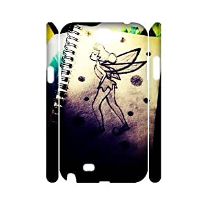 Peter Pan High Qulity Customized 3D Cell Phone Samsung Galaxy Note4 , Peter Pan Samsung Galaxy Note4 3D Cover Case