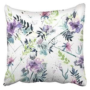Amazon.com: Emvency Decorative Throw Pillow Covers Cases Vintage ...