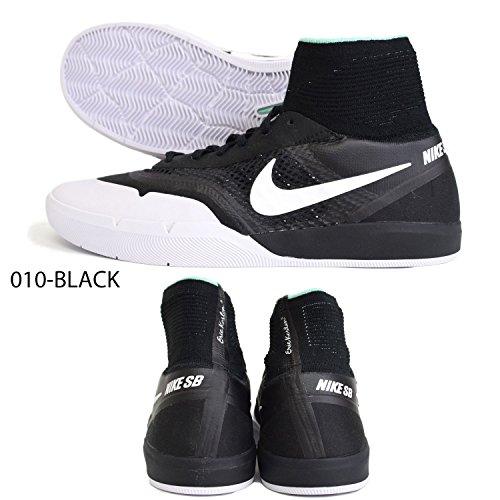 de 010 Skateboarding 860627 NIKE White Black Negro para Hombre Zapatillas gqwtgAU