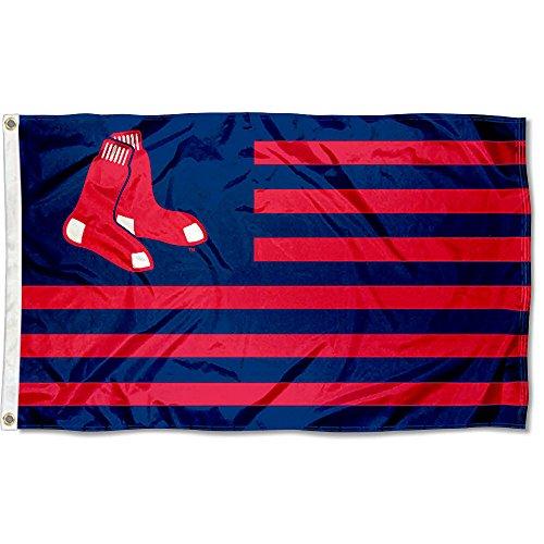WinCraft MLB Boston Red Sox Nation Flag 3x5 Banner