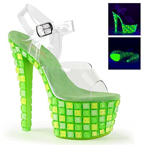 Clr neon Sky Green 308uvtl Pleaser U1vAw