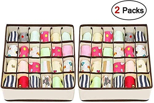 Joyoldelf Sock Drawer Organizer