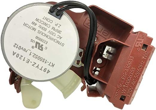 MAYITOP W10006355 Actuador para Whirlpool Kenmore Lavadora ...