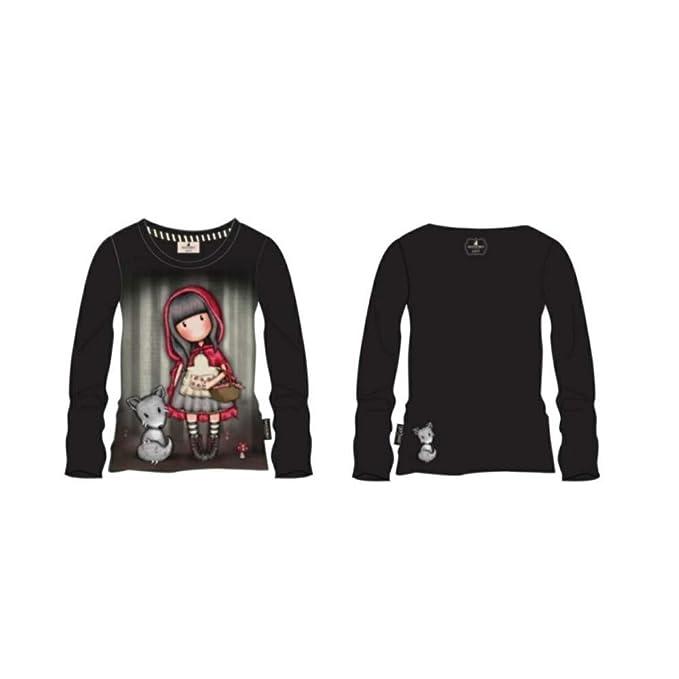 Taglia 8-10-12-14 Anni Santoro Gorjuss Maglietta//t-Shirt