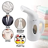Garments Steamer Portable Handheld Fabric Home Travel Clothing Steamer with Powerful Fast Heat Aluminum Heating Element