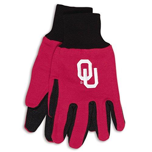 Oklahoma Two-Tone Gloves - Mall Ok Outlet