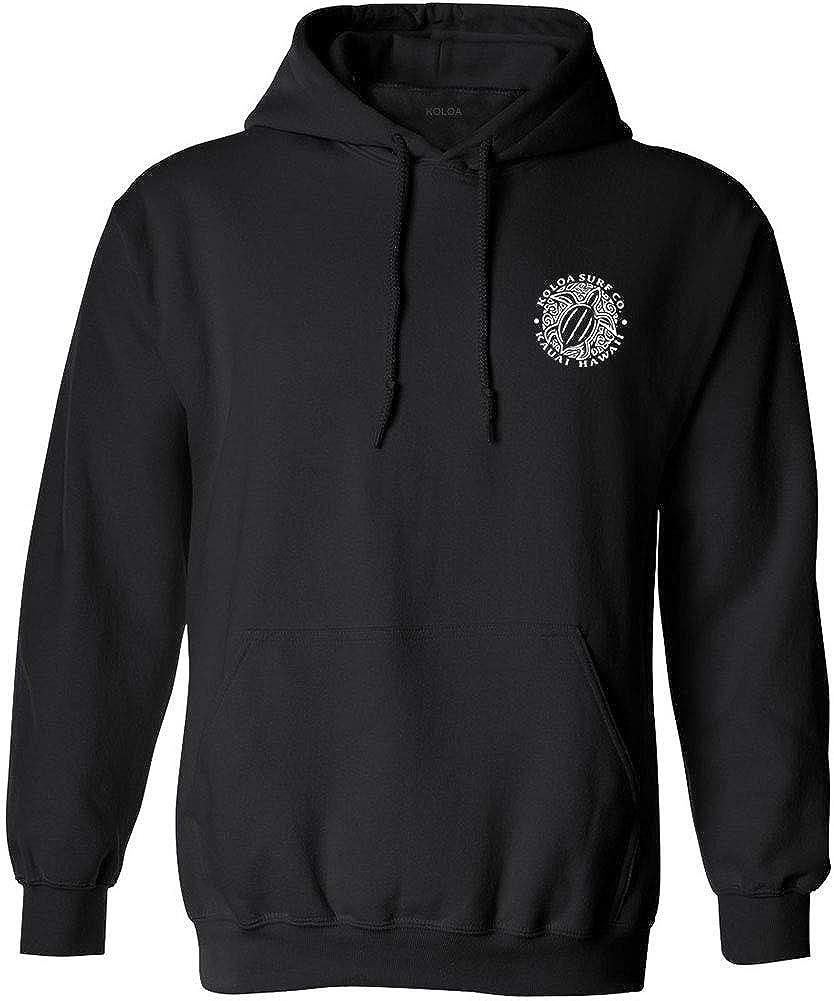 Koloa Hawaiian Turtle Logo Hoodies. Hooded Sweatshirts in Sizes S-5XL