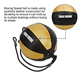 TOCO FREIDO Double End Punching Ball with Boxing