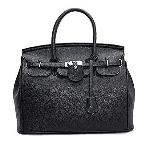 Hermes Birkin Bag Black - 8
