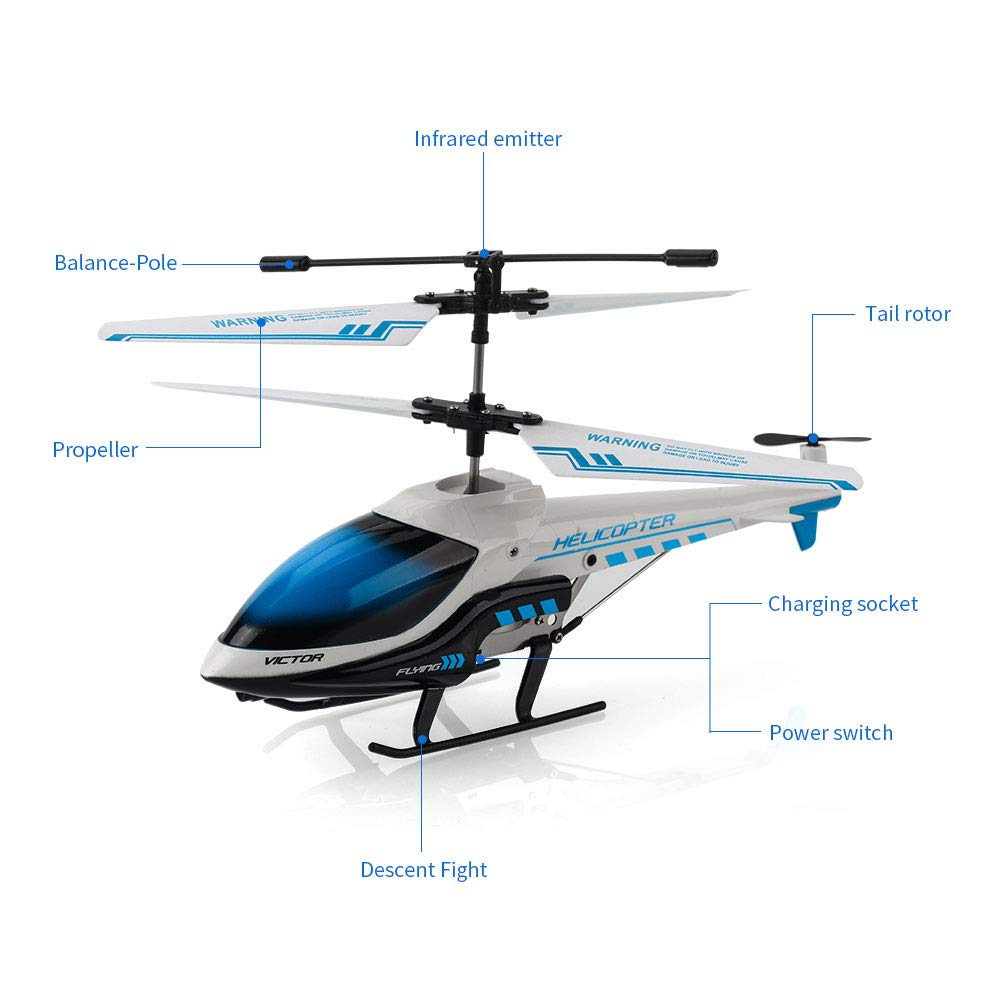 KOOWHEEL S810 Best Indoor RC Helicopter