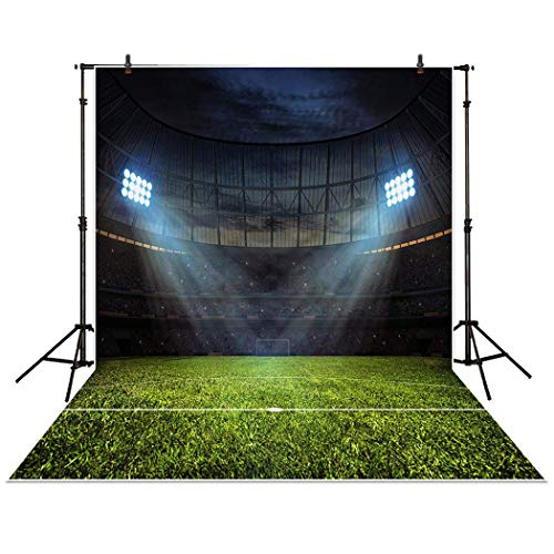 Allenjoy 5x7ft Photography Backdrop Night football stadium s