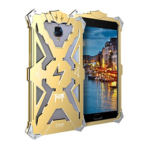 outlet store ed7c2 9ebee Oneplus 3 Case, LWGON Aviation Aluminum Anti-scratch Strong Protection  Metal Case for One plus 3 , Hollow Design Full Signal Oneplus 3T Thor Case  ...