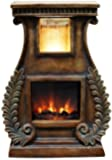 Alpine GXT614S LED Fireplace Fountain with Fern Detail