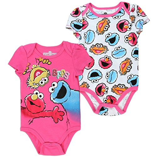 Elmo and Friends Infant Baby Girls