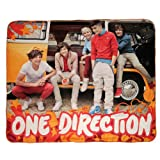 One Direction Full Band Micro Plush Throw Blanket Icon