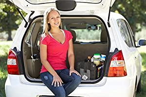 Car Trunk Organizer & Cargo Carrier - Sturdy Storage - Foldaway Feature from Red Oak Outfitters