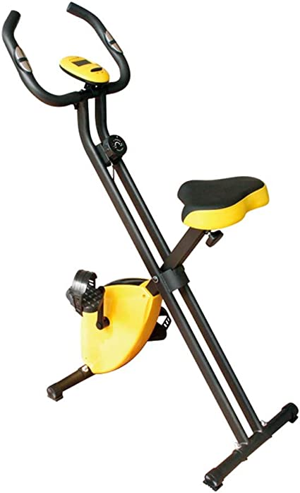 Rziioo Bicicleta estática Plegable Fitness máquina estacionaria ...