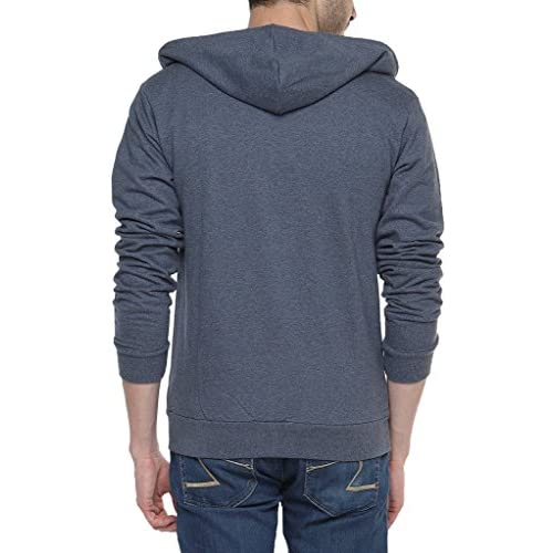 51fqiuMgGpL. SS500  - Campus Sutra Men's Cotton Denim Zipper Hoodie