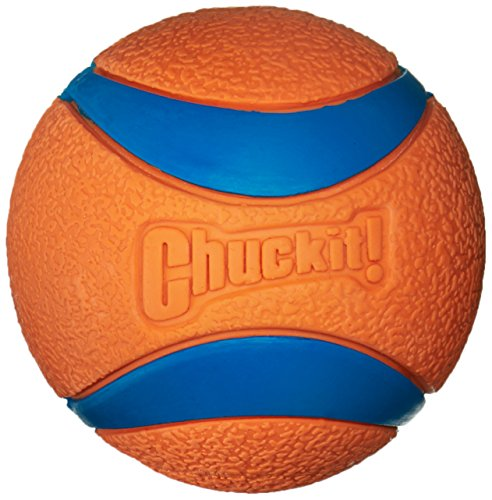 Toy Dog Launcher Ball (Petmate Large Ultra Ball 3-Inch, 1-Pack)