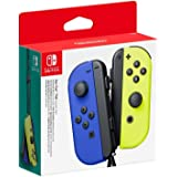 Nintendo-NINTENDO SWITCH JOY-CON PAIR BLUE/NEON YELLOW