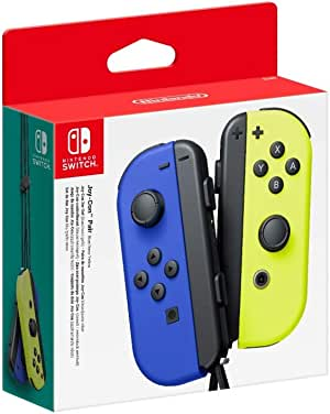 Nintendo Switch Joy Con Controller Pair [Blue/Neon Yellow]