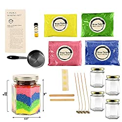 Kids Candle Making Kit- Make 4 Scented Granulated
