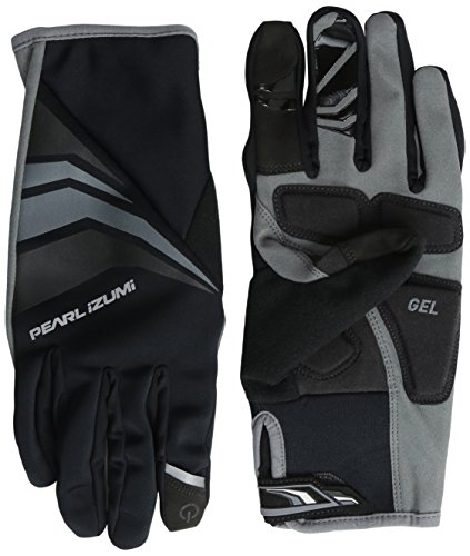 Pearl iZUMi Men's Cyclone Gel Gloves, Black, Medium (Pearl Izumi Women Cycling Gloves)