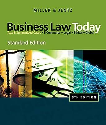 Amazon.com: Aplia for Miller/Jentzs Business Law Today ...