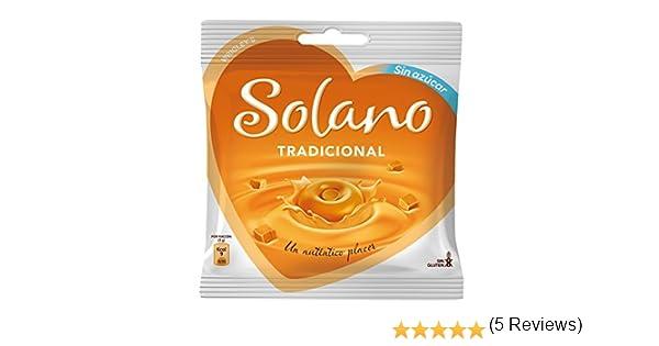 Solano - Caramelos Sin Azúcar Tradicional (30 unidades) 90 g: Amazon.es: Alimentación y bebidas