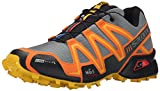 Salomon Men's Speedcross 3 CS Trail Running Shoe, Light TT/Clementine-X/Bee-X, 11.5 D US