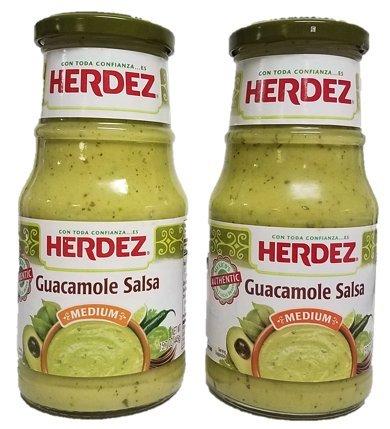 Herdez Guacamole Salsa, Medium, 15.7oz (Pack of 2) with Especiales Cosas 7