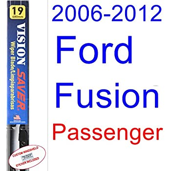 2006-2012 Ford Fusion Wiper Blade (Passenger) (Saver Automotive Products-Vision Saver) (2007,2008,2009,2010,2011)